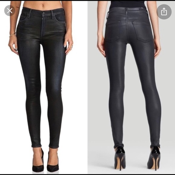 Black skinny Rocket jeans